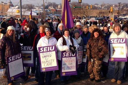 Hundreds of UPMC Altoona RNs Strike for Patient Care and Job Standards (Press Release from Molly Rush)